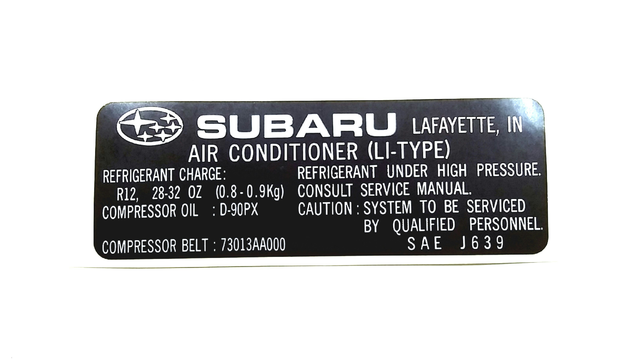 a392ead74ce8a7d77cf988ec2d66ffed label air conditioner no 1 sia on subaru air conditioning diagram