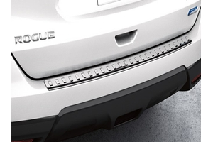 Rear Bumper Protector - Chrome