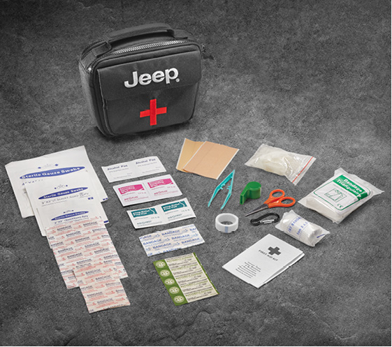 Cargo, Management System, First Aid Kit - Mopar (82213730AB)