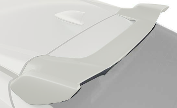 Spoiler, Tailgate *NH788P* (White Orchid Pearl)