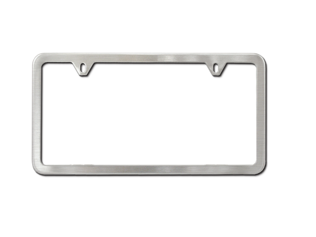License Plate Frame No Logo, Slimline