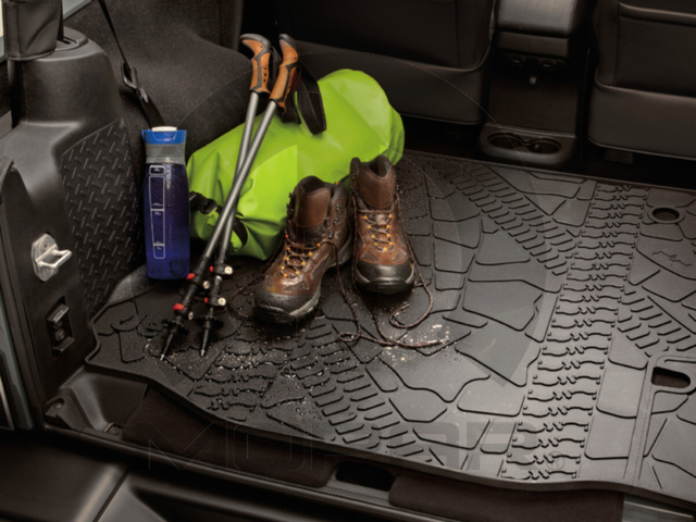Cargo Area Tray, Molded, 4 Door