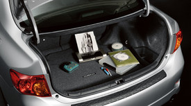 COROLLA CARPET TRUNK MAT CHARCOAL 2009-2010 MODEL