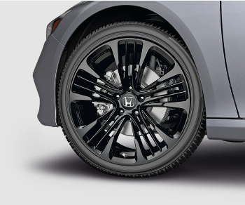 19 Inch Glint Black Alloy Wheels (Each) - Honda (08W19-TVA-100D)