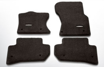 Floor Mats, Luxury Carpet, Espresso - Jaguar (T4A5528AAM)