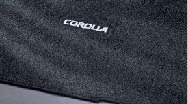 Corolla Carpet Floor Mats Grey