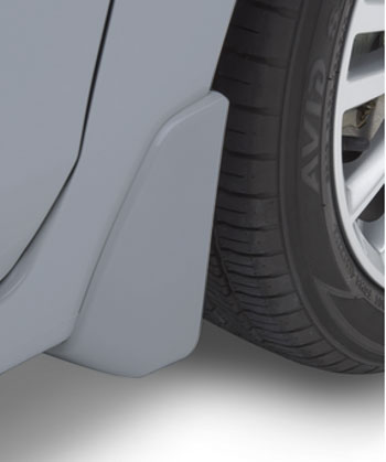 Splash Guards 4 Dr- Ice Silver Metallic