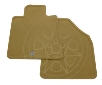 Floor Mats, Carpet, Front - GM (19208477)