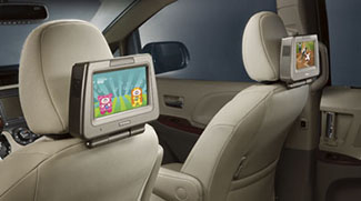 Rear Seat Entertainment, Seat Top Dock
