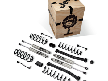 2018-2020 Jeep Wrangler JL 4-Door 2-Inch Lift Kit with 2.5 Inch Diameter FOX Shocks for 3.6L Engines - Mopar (77072395AC)