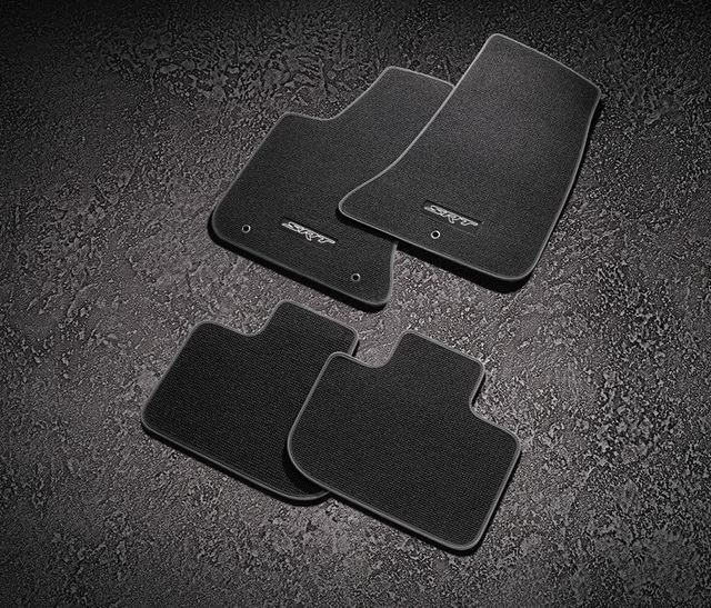 Cargo Mat, Carpet, Srt Logo