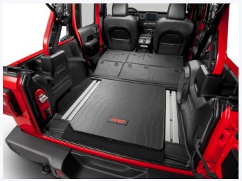 Molded Cargo Tray - 4-Door