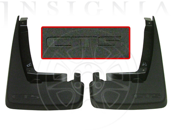 Splash Guards, Rear - GM (17802090)