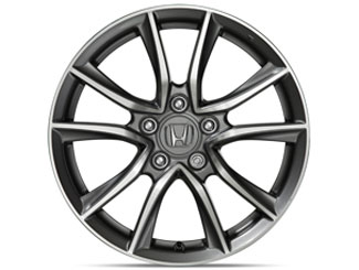 R-10 17 Alloy Wheel W/ Tires - Honda (08W17-SZT-102)