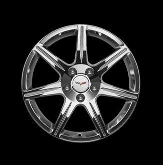 "18"" Wheel, Front, Chrome"