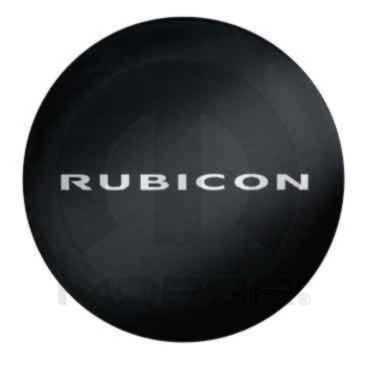 Mopar 82209954 Rubicon Spare Tire Cover