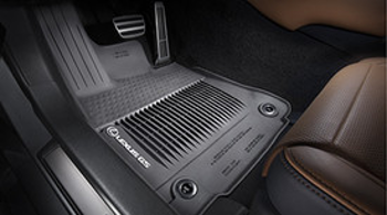 Floor Mats, All-Weather, Awd, Black