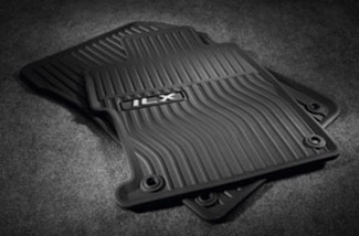 Floor Mats, All-Season, Black - Acura (08P13-TX6-210)