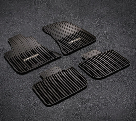 All Weather Floor Mats - Black - Rwd Only