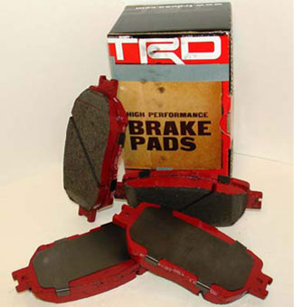 Trd, Brakes, Front Pads