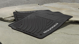 All-Weather Floor Mats -  Black - 4pc