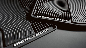 2PC All Weather Mats Blkfrt Hhldr - Toyota (PT908-48H0W-02)