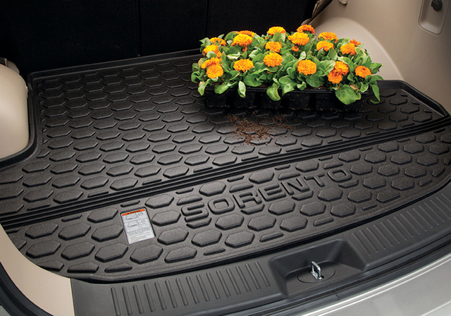 2014-2015 Kia Sorento 5-Passenger Trunk Area Protection Mat Cargo Tray OEM NEW - Kia (1U012-ADU00)