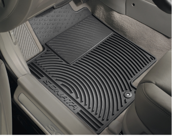 Floor Mats, All Weather Complete Set Front and Rear