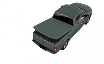 Tonneau Cover, Hard Painted, 6.5' Bed
