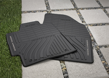 All Weather Mats 3RDROW Highlander - Toyota (PT908-48000-02)