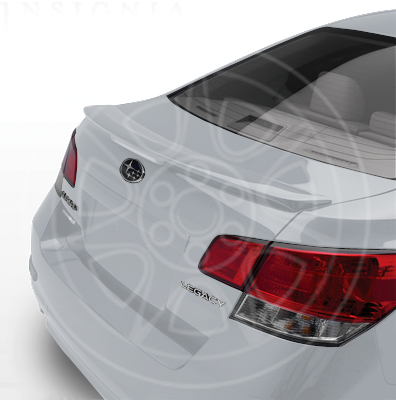 Rear Spoiler - Ice Silver Metallic - 2011-2014