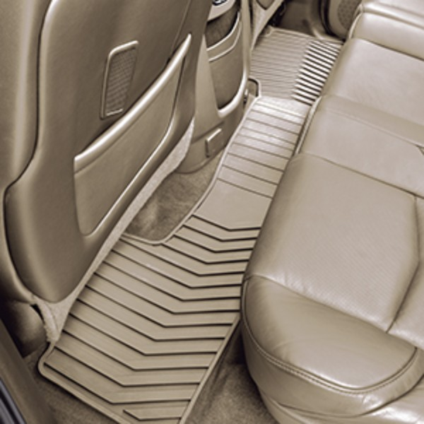 Floor Mats, All Weather, Second Row 1pc