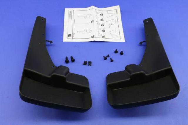2013-2017 Dodge Ram Truck Mopar Molded Splash Guards Mud Flaps - Front - Mopar (82212287AC)