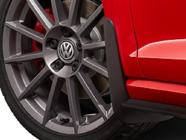 Splash Guards - Black - Front - Volkswagen (5GV-075-116)