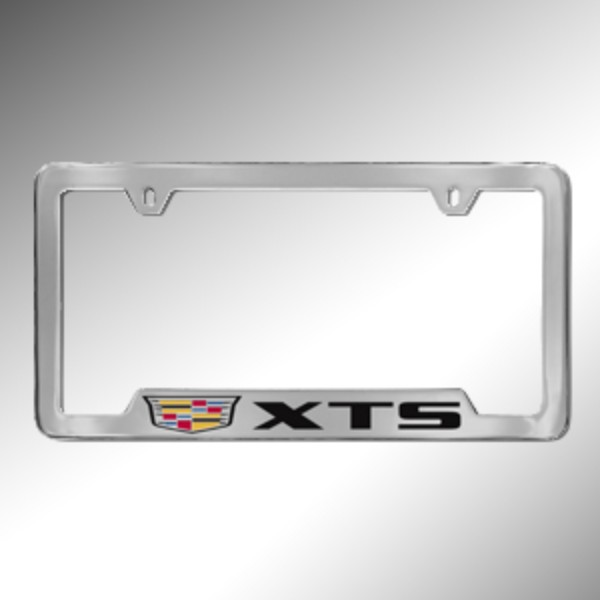 License Plate Frame, Xts Logo