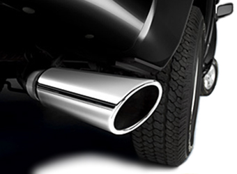 Exhaust Tip - Chrome - 4 O.D And 3 I.D