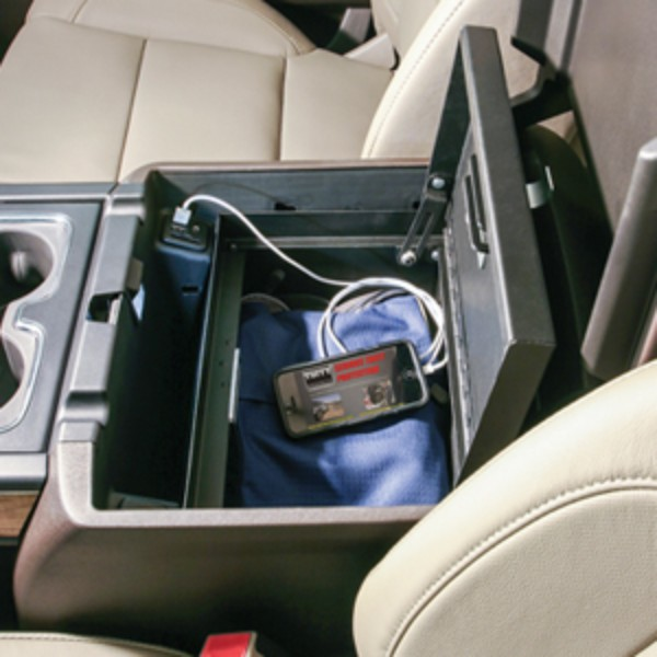 Cargo Center Console Lock Box By Tuffyandreg