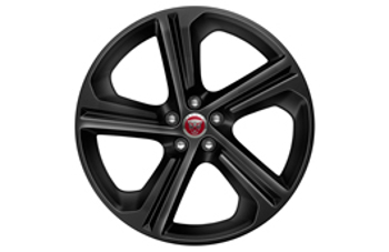 "20"" Blade, 5 Spoke, Grey Diamond Turned - Jaguar (T4A4437)"