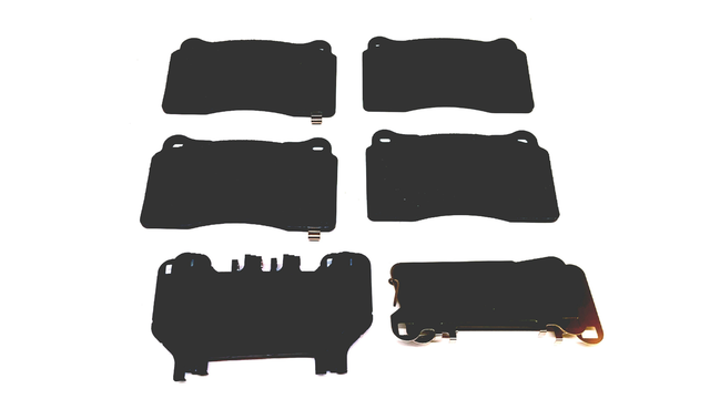 Brake Pads, Left Front, Right Front, Front