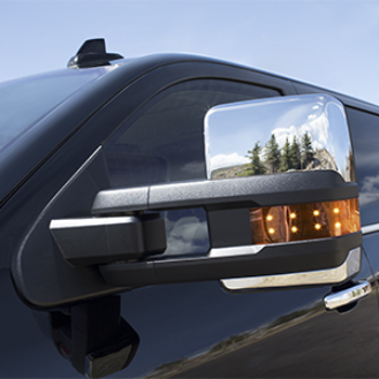 Trailering Mirrors, Chrome