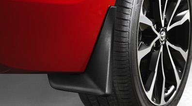 2014-2019 Corolla Mudguards Set Black Mudguard 4PC Genuine Toyota PU060-12115-P1