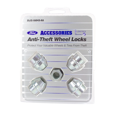 Wheel Locks, Zinc For Hidden Lugs