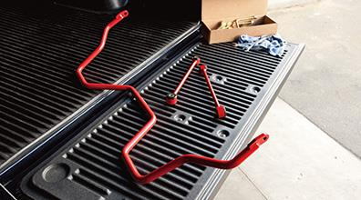 Trd Sway Bar - Rear - Red