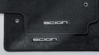 Scion Xb Floor Mats 4-Pc Black