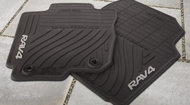 4PC All Weather Floor Mats RAV4