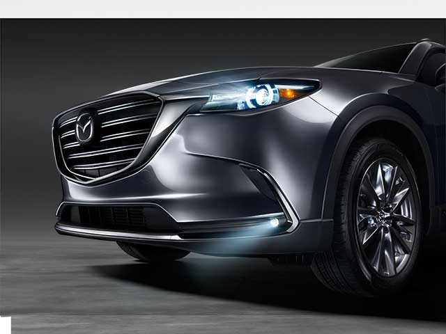Fog Lights, LED, CX-9 (2016- 2018)