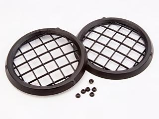 Light Cover - Black Mesh-Style Lens Cover
