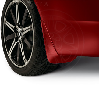 Splash Guards - Basque Red Pearl - Acura (08P00-TK4-280)