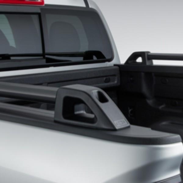 """OEM Chevrolet Performance Bed Rails, Black (5'2"""" Bed"""