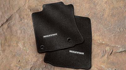 4runner Floor Mats Black STP3